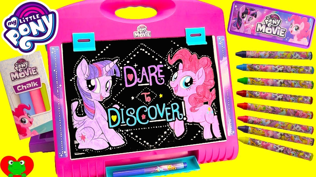 My Little Pony Movie Art Easel Twilight Sparkle And Pinkie Pie Coloring Page Sea Ponies