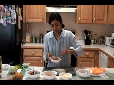 Chimichanga - oven baked Mexican Cuisine Recipe by Bhavna