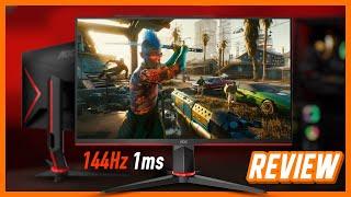 Monitor Gamer AOC HERO 144Hz 1ms de 27 e 24 Polegadas