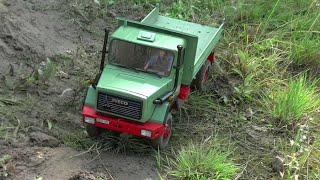 REAL RC TRUCK ACTION ! RC MACHINES AT WORK! RC CONSTRUCTION WORLD!