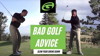 Golf Lesson Series: The worst advice in golf