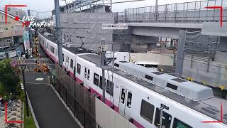 さようなら新京成の踏切  よろしく高架