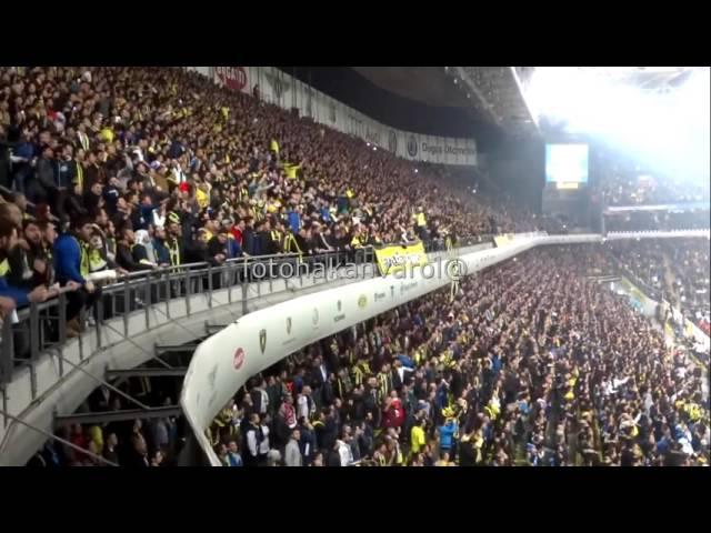 Santra ile birlikte Fenerbahçe stad? sallan?yor..