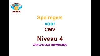 Aetos CMV-volleybal spelregels niveau 4