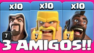 "3 TROOPS 1 WAR!!! "" Clash Of Clans"" supercell competition"