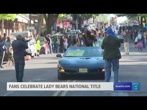 News Around The Lone Star State - Fans celebrate Baylor Lady Bears' national title