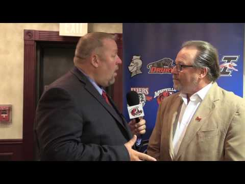 Maryville President Dr. Mark Lombardi talks about Nate Rodriguez winning the GLVC Paragon Award