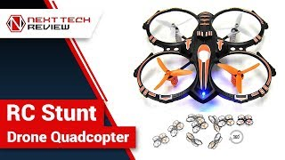 RC Stunt Drone Quadcopter Product Review  – NTR