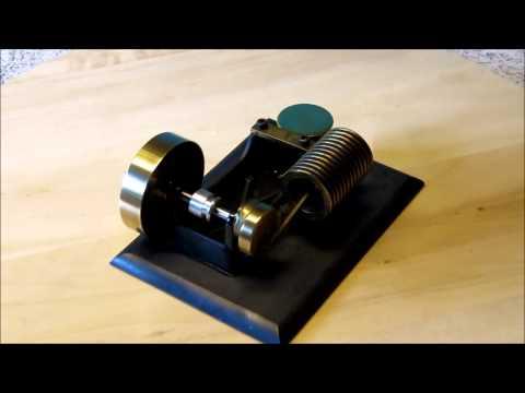 Solar Engines, Phoenix AZ - Mini Vac Flame Eater (Vacuum Engine)