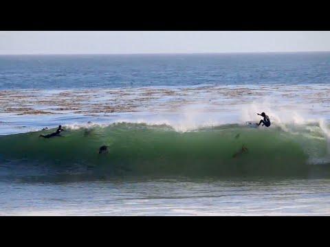 Pleasure Point Barrels | Santa Cruz *Raw Footage*