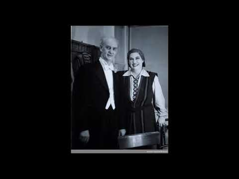 """Kirsten Flagstad """"Vier letzte Lieder"""" R. Strauss"""