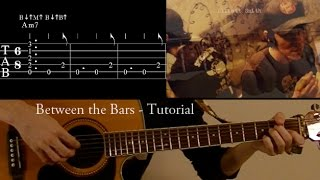Between the bars - Elliott Smith guitar lesson