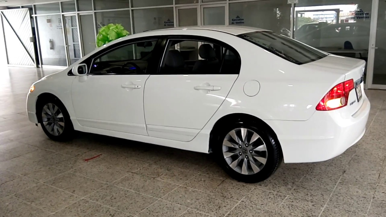 Honda Civic Exl >> HONDA CIVIC EXL 2009 PIEL QUEMACOCOS - YouTube