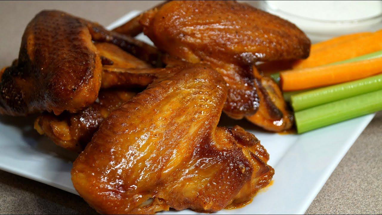 Chicken Wing Recipe - Direct Smoking Method - Big Green Egg ...