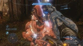 Halo 4 - Plasma Sword Killing Frenzy Gameplay Video