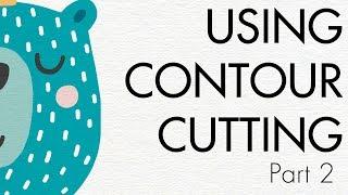 Contour Cutting Opaque Heat Transfer Paper Part 2 : Great Cut 3