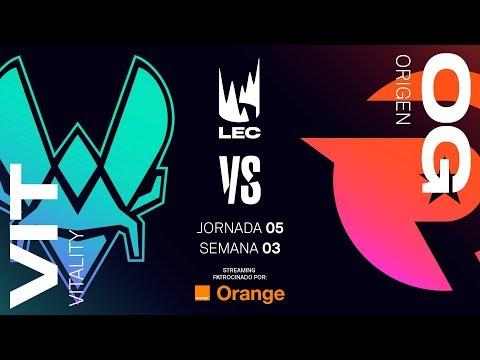 TEAM VITALITY vs ORIGEN | LEC | Spring Split [2019] League of Legends