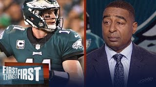 Did Eagles QB Carson Wentz prove he was elite against the Redskins on Monday?   FIRST THINGS FIRST