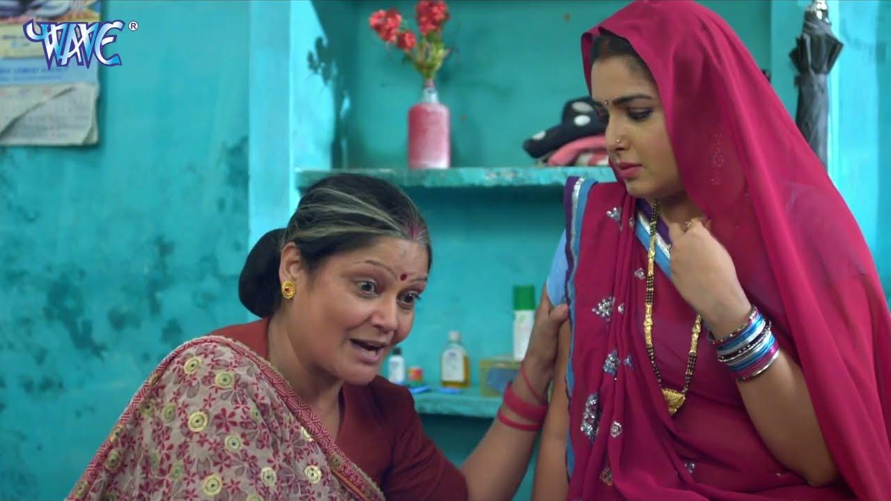 निरहुआ की दूसरी बीबी आई उनके घर हुवा अचानक ऐसा - Raja Babu - New Movie Scane 2021