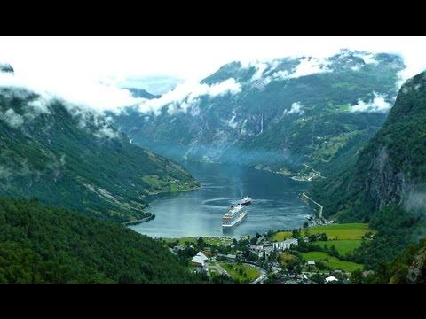 Geirangerfjord Geiranger und Hellesylt - Kreuzfahrt zum Nordkap (3) - Nordland Kreuzfahrt