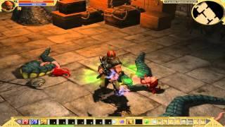 Прохождение Titan Quest Immortal Throne #10 город Кнос