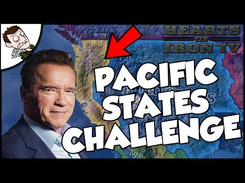 Hearts of Iron 4 HOI4 Kaiserreich Pacific States Challenge