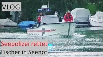 VLOG: Seepolizei rettet Fischer in Seenot │DEUTSCH #064