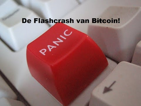 (101) De FLASHCRASH van Bitcoin!