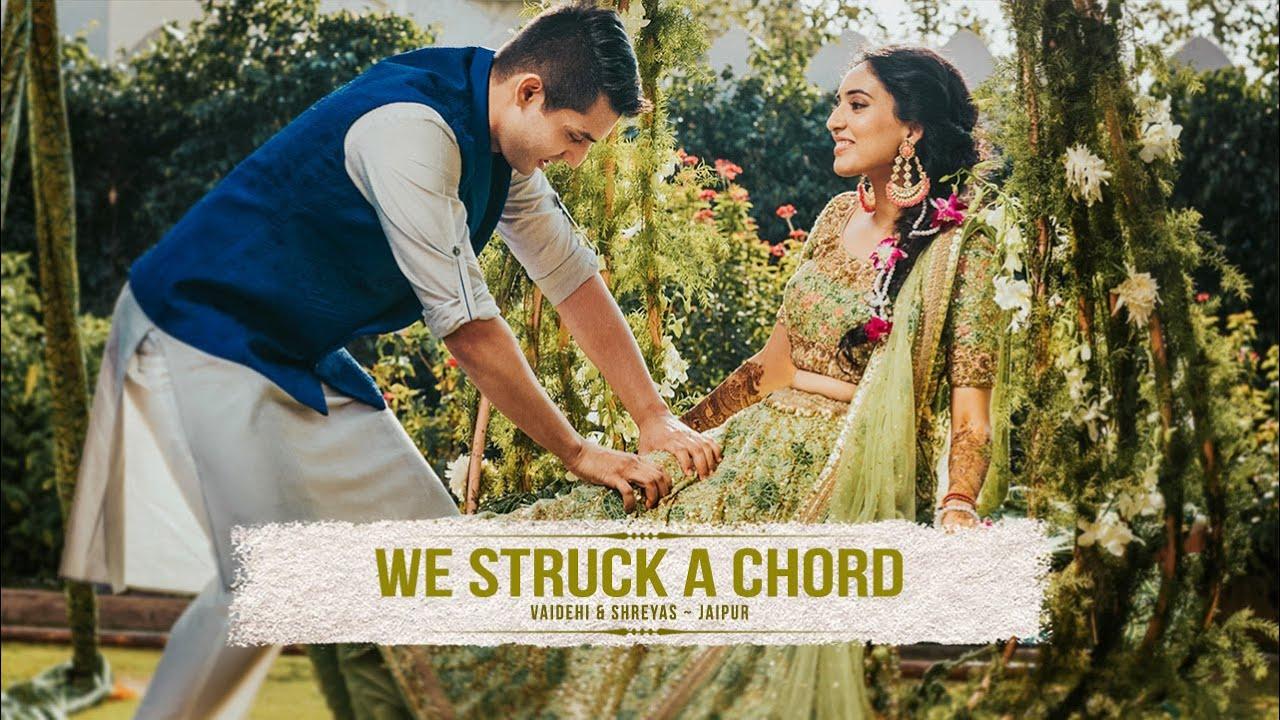 WE STRUCK A CHORD   Vaidehi & Shreyas Trailer // Best Wedding Highlights //  Jaipur, India