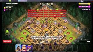 Clash of clans 1000 DOMUZ BİNİCİ saldırısı İzle Ve Gör