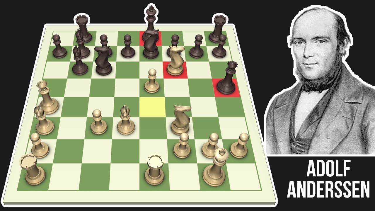 Download Anderssen's Evergreen Game: Every Move Explained For Chess Beginners