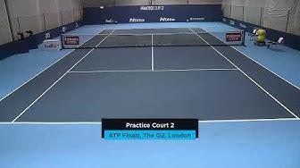 2019 Nitto ATP Finals: Live Stream Practice Court 2 (Wednesday)