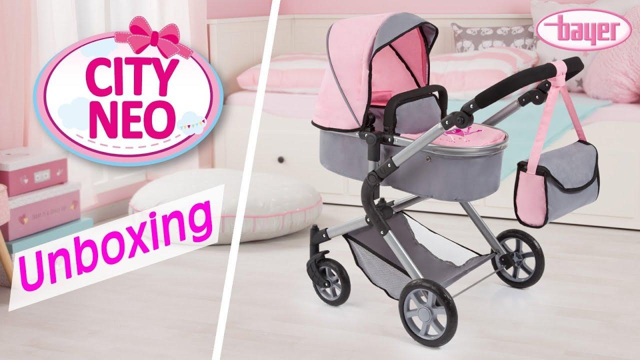 Bayer Design Puppenwagen Trendy lila NEU Puppen & Zubehör