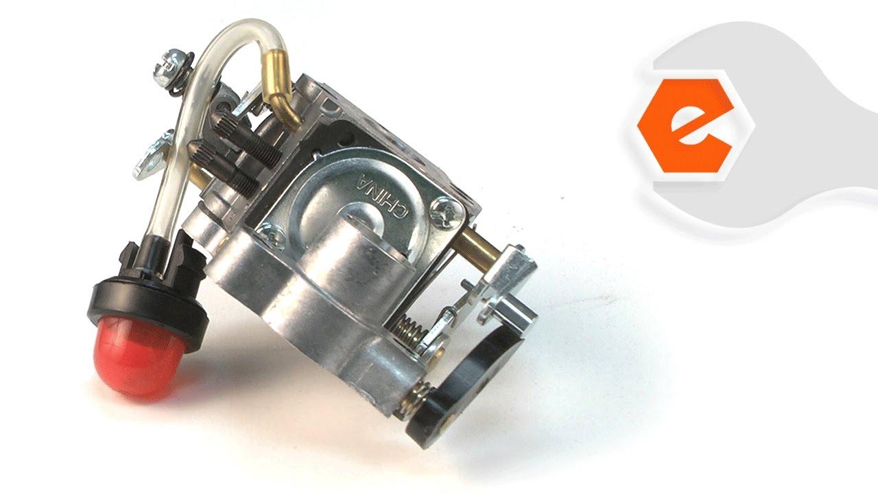 chainsaw repair replacing the carburetor poulan part 545070601  [ 1280 x 720 Pixel ]