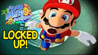 MARIO GOT LOCKED UP! [SUPER MARIO: SUNSHINE] [GAMECUBE]