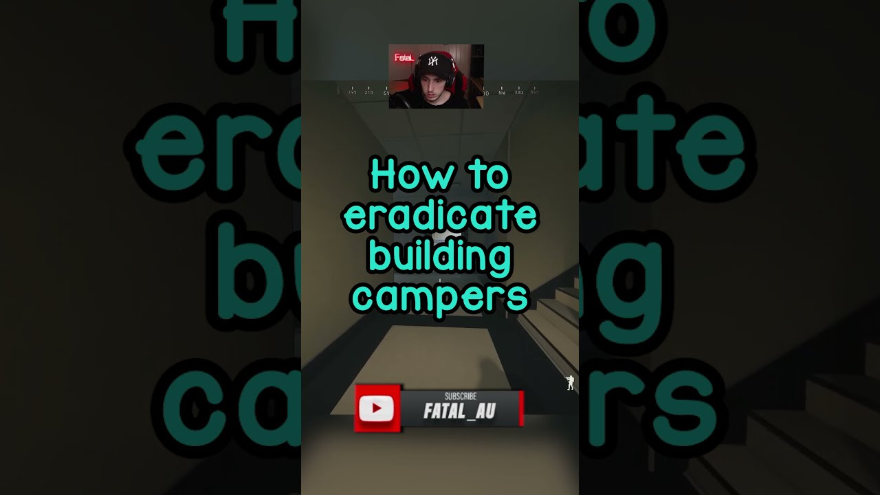 How to eradicate building campers in warzone #Shorts