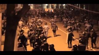 Евромайдан беркут избивает людей Харьков 24.02.2014