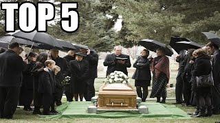 TOP 5 - Úžasných typů pohřbení