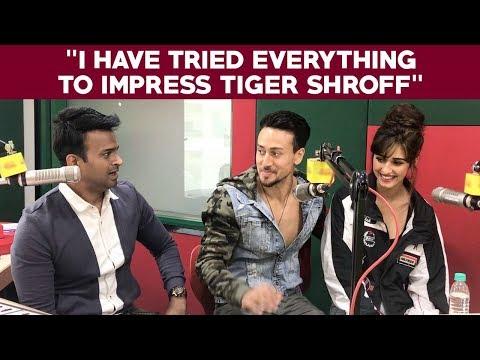 "Disha Patani says ""I have tried everything to impress Tiger Shroff"""