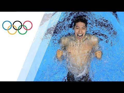 Gold for Japan in Men's 400 IM