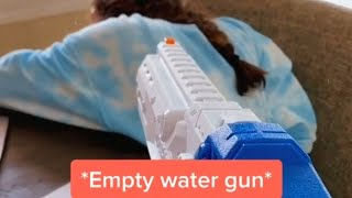 مقلب رشاش الماء!!