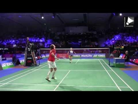 Jan O Jorgensen vs Kashyap Parupalli - MS QF  [Denmark Open 2014]