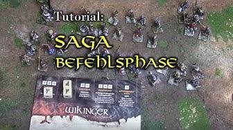 Wie spielt man Saga?  Tutorial: Befehlsphase