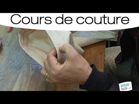 faire un revers de pantalon qui tienne en couture youtube. Black Bedroom Furniture Sets. Home Design Ideas