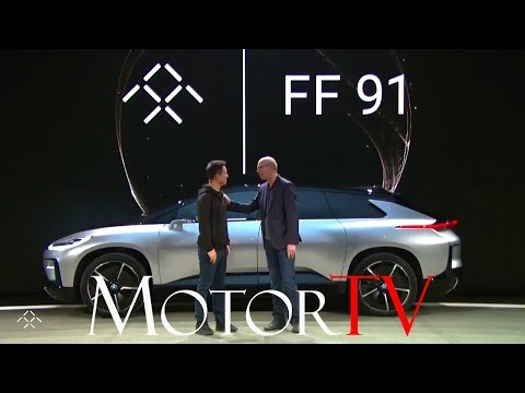 FARADAY FUTURE FF 91 l CES 2017 l LIVE Reveal