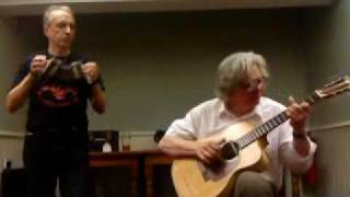 Brian Peters and Grant Baynham at the Midway Folk Club - Dallas Rag