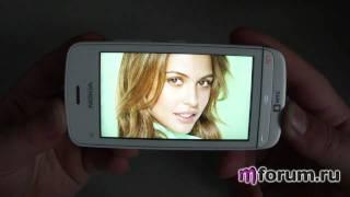 обзор Nokia C5-03 - дисплей