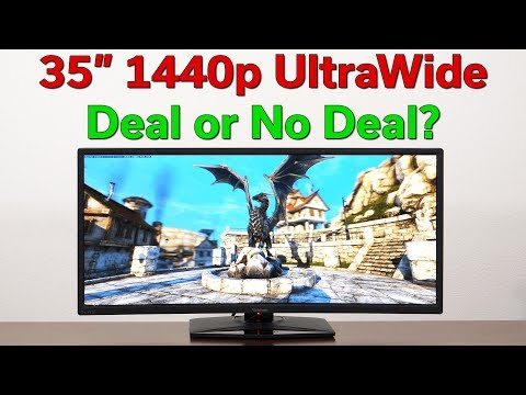 """ViewSonic Elite XG350R-C — 35"""" UltraWide 1440p Monitor Review — Deal or No Deal?"""
