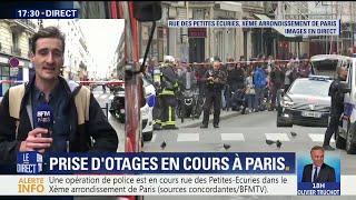 Une prise d'otages est en cours à Paris