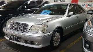Toyota Crown [S170] 3.0 Royal Saloon 2001 In Depth Review Indonesia